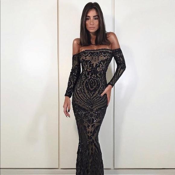 Nadine Merabi Dresses Arabella Formal Bodycon Dress Maxi Poshmark